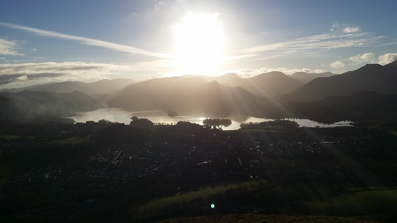 Derwentwater from Latrigg #sh