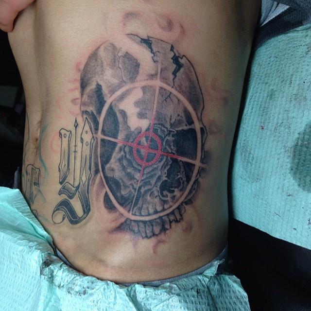 Sniper Skull Tattoo Sniper Skull Tattoo