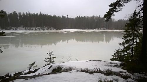 lake ice finland nokia gåsgårdsträsket lumia830