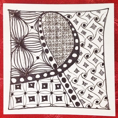 My first #zentangle