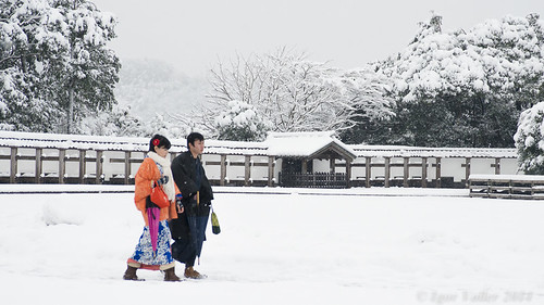Walking Couple