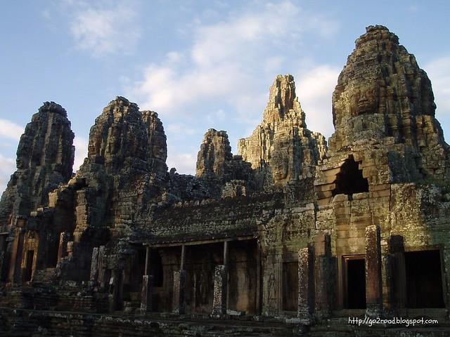 Храм Байон в Ангкоре