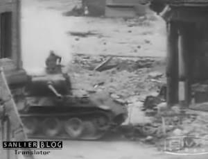 坦克战:活活烧死23