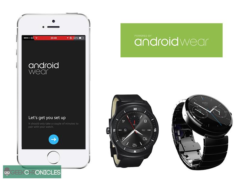 Android Wear va suporta dispozitive iOS