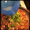 #CucinaDelloZio - #Homemade #RefriedBeans - cilantro and lime juice