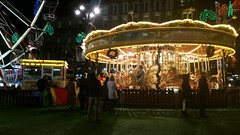 Taylor's Funfair Presents Their Traditional Carousel