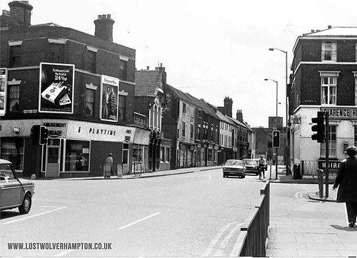 Pipers Row pictured in the 1970's.