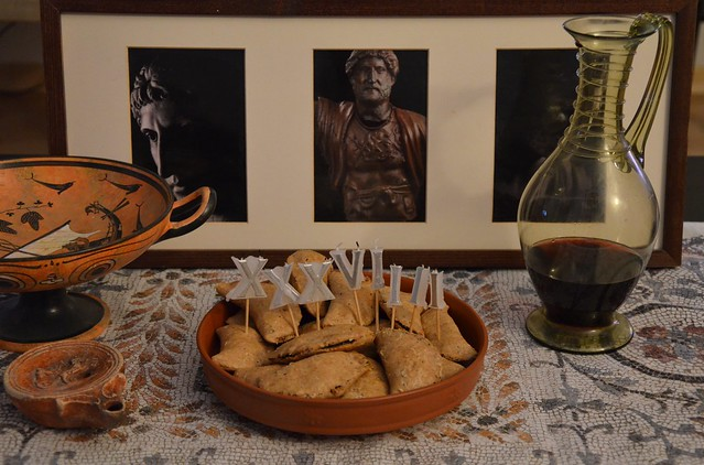 Laterculi (Poppy-seed Cakes) - Happy 1939th birthday, Hadrian!