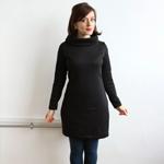 Black Coco Sweatshirt Dress