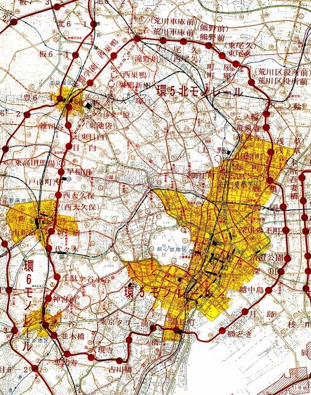 都営モノレール計画(環5モノレール)