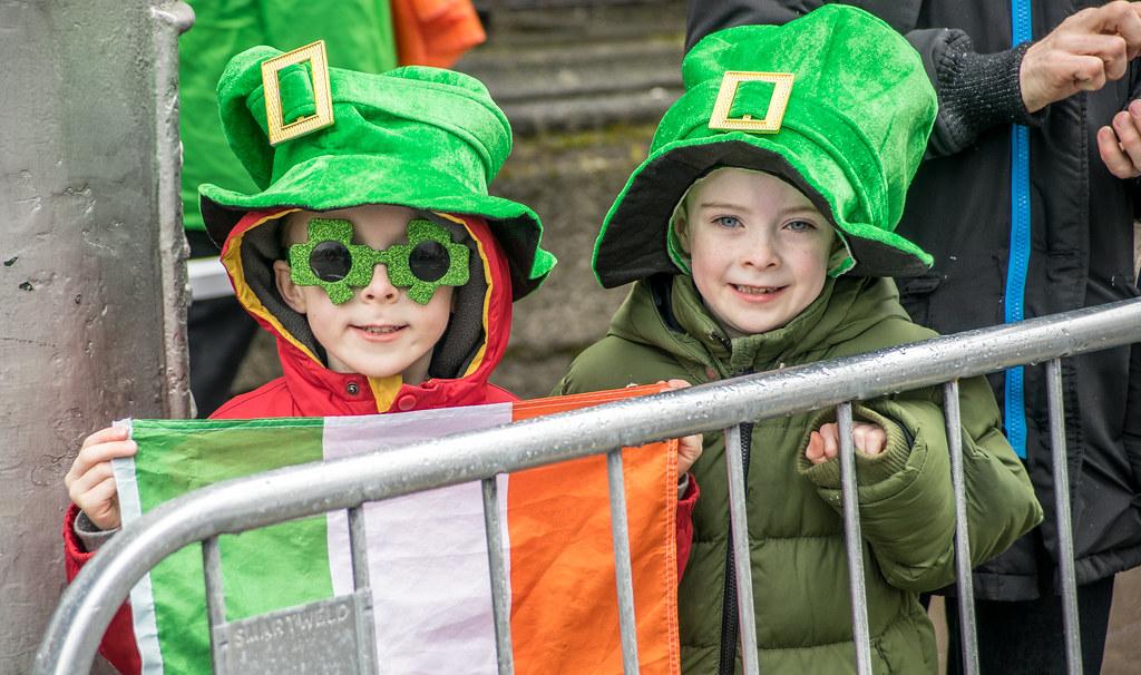 St Patrick's day 2015, Dublin, Ireland