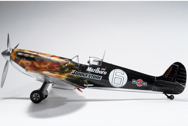 【玩具人'Sampson WS Yu'投稿】Supermarine Spitfire on fire!!
