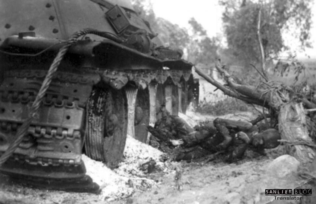 坦克战:活活烧死08