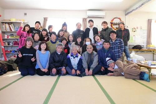幡ヶ谷再生大学餅つき20150112_02