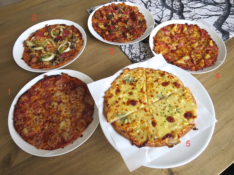 Greenwich pizza thins