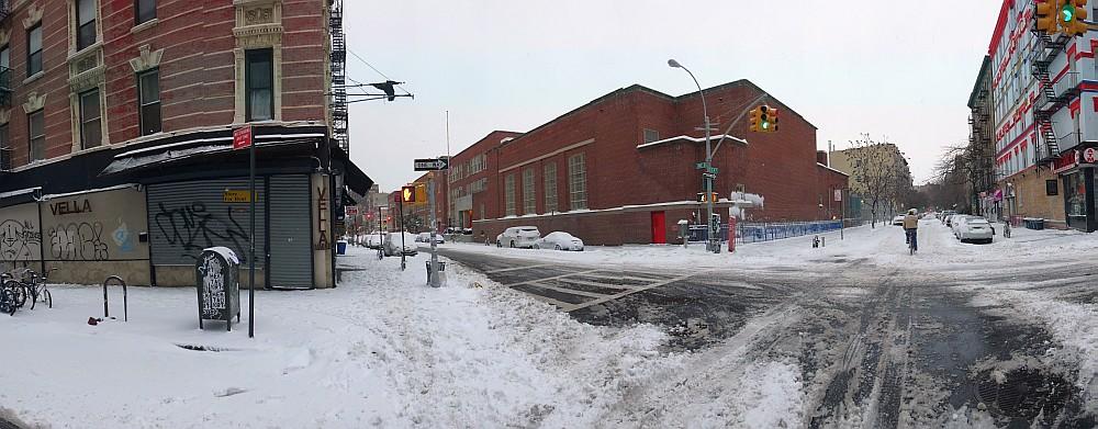 4th Street Snow