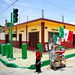 photo - Getting Ready for Mexico's Independence Day (square format)
