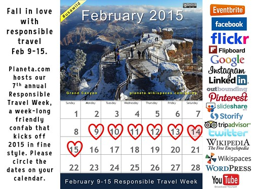 Fall in love with responsible travel Feb 9-15 #rtweek15