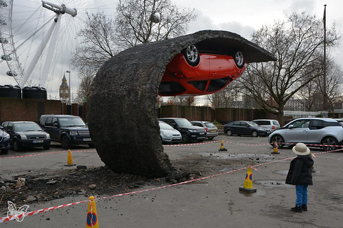 Alex Chinneck - London