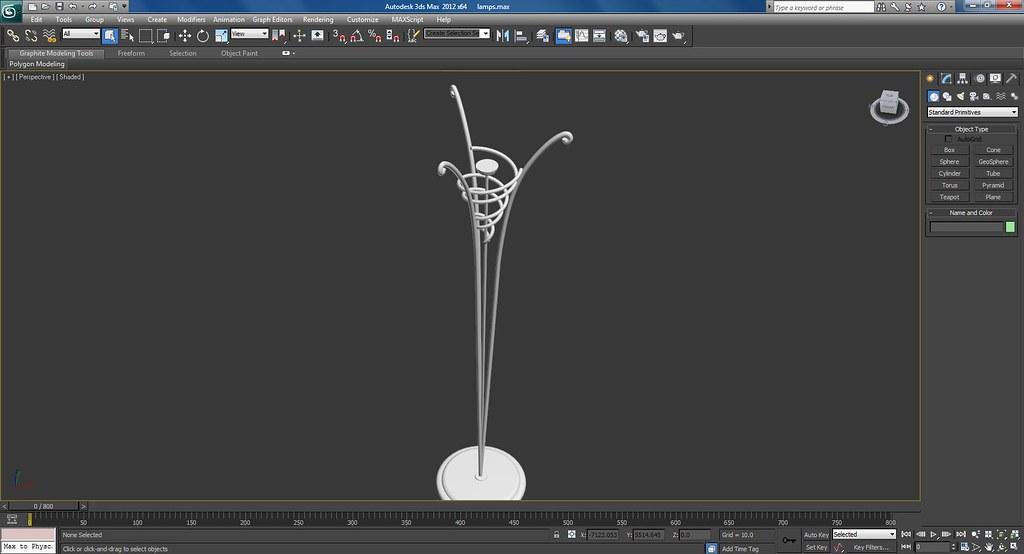 3d Lamps Work In Progress Screenshots