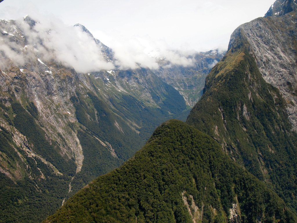 Fiordland National Park in New Zealand