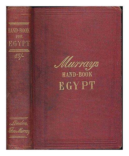 MurraysHandbookEgypt