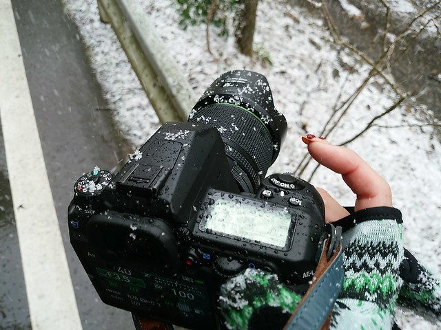雪まみれのK-3