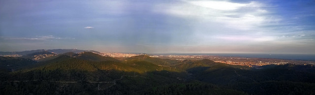 Panoramica desde Begues