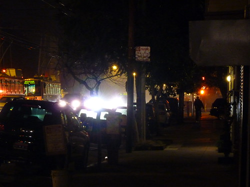 #4 returning home, very smoky in the 'hood,  another big (4 alarm) fire in the mission district of san franciosco 1-15