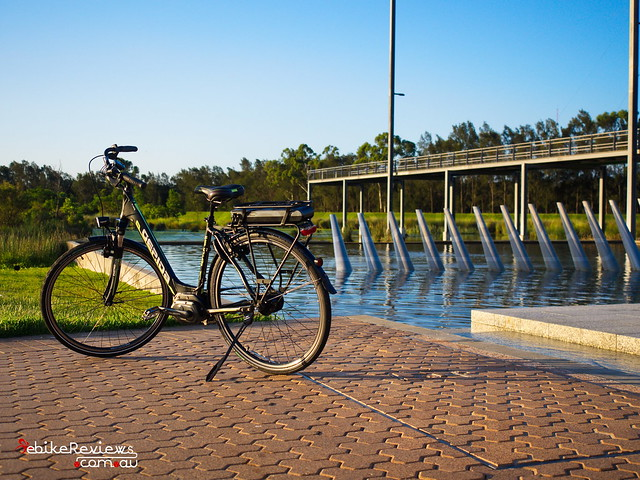 """Gepida Reptila equipped with Shimano STEPS • <a style=""""font-size:0.8em;"""" href=""""http://www.flickr.com/photos/ebikereviews/16550161380/"""" target=""""_blank"""">View on Flickr</a>"""