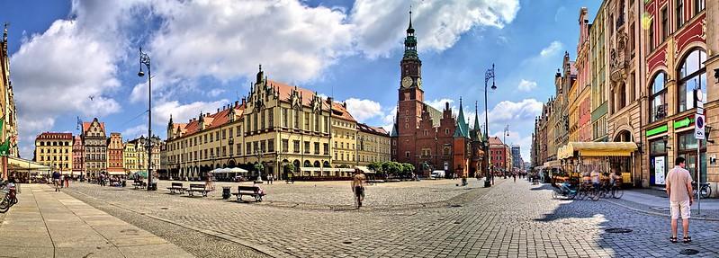 Wrocław Plaza del Mercado