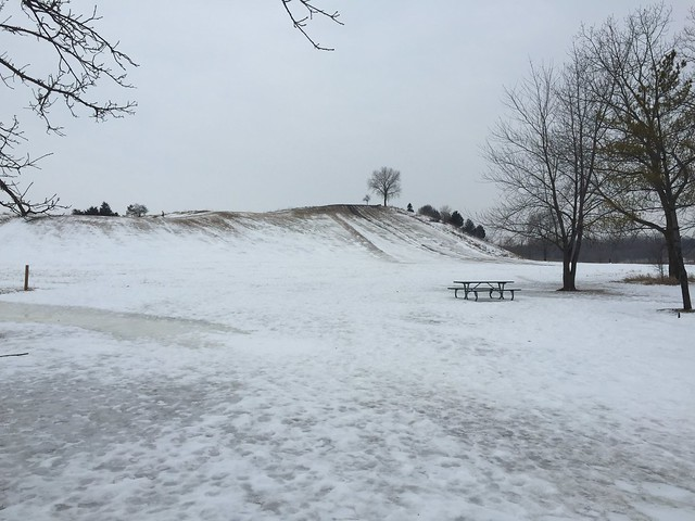 Sledding Hill at Oakhurst Forest Preserve
