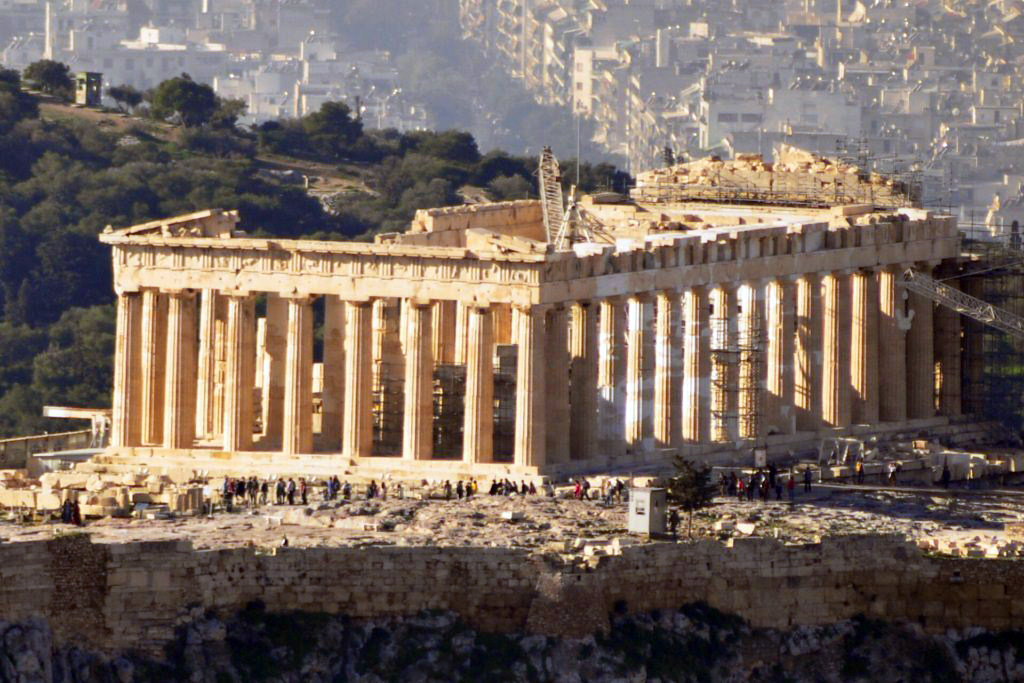 Qué ver en atenas en 2 días - Partenón visto desde el monte lycabettus atenas en 2 días - 16613152665 b530fa1698 b - Qué ver en Atenas en 2 días