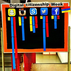 Snapchat is already off the charts as gr6-8 students track their time spent online for Digital Citizenship Week #yisdcw15