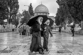 Rainy Mood at Temple Mount