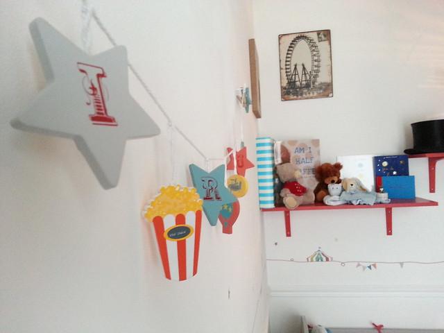 Paris Circus Inspired Nursery