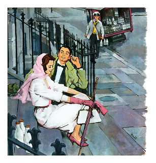 1960 illustration by Harry Hants