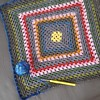 Worked a bit on my crocheted grannyblanket again 😊 by *blythe-berlin*