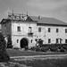 Main entrance building at Zolochiv Castle