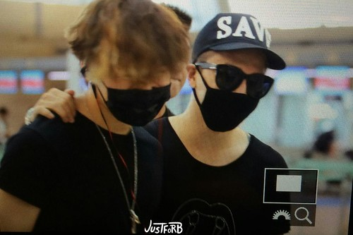YB Dae GD departure Seoul to Bangkok 2015-07-10 031