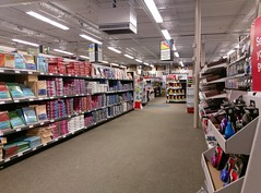 Looking over toward Technology, and aisle 7