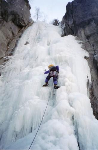 Mike Climbing