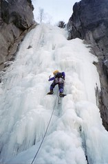 Ice Climbing: Chamonix, France (27-Dec-01)
