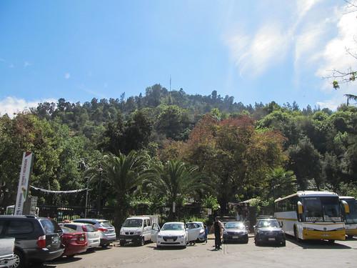 Santiago: el Cerro San Cristóbal