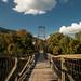 Foot Bridge Over The James, Buchanan, Virginia