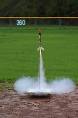 Model Rocket Launch, Dec 2014