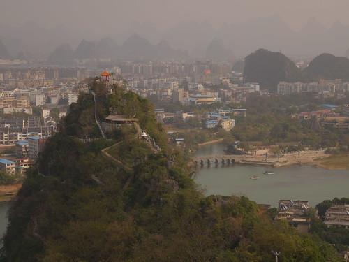 Guilin Diecai mountain