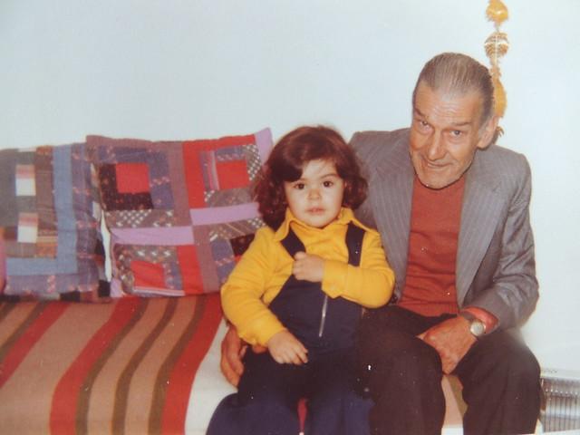 eu e o avô Zé