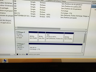 Formatage disque dur