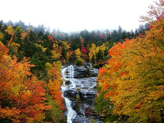 Waterfalls in the Fall
